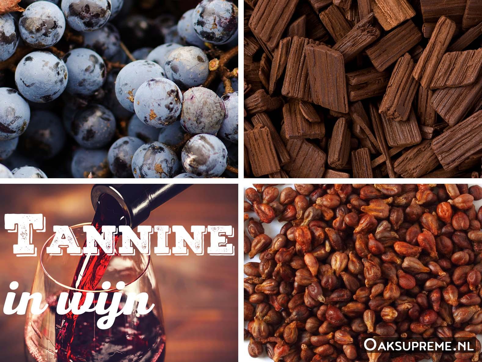 Tannine in wijn